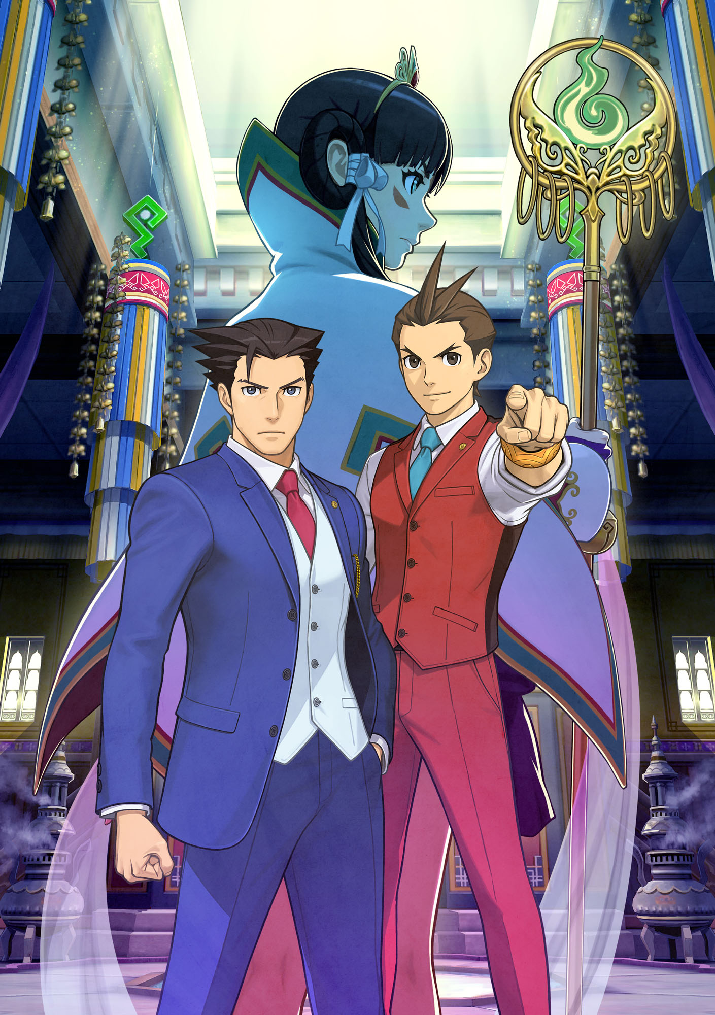 Phoenix Wright Ace Attorney Spirit Of Justice Coming West In September
